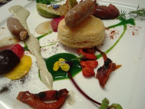 A dish from the Eat Local Dinner Series event